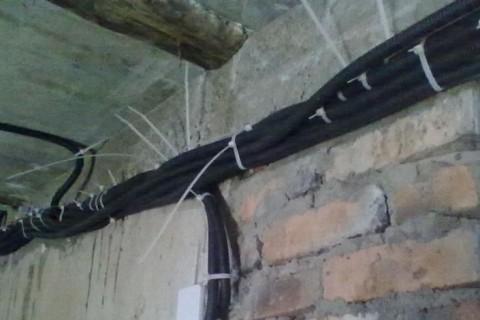 Замена электропроводки в новостройке