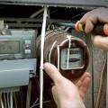 Установка и замена электросчётчика